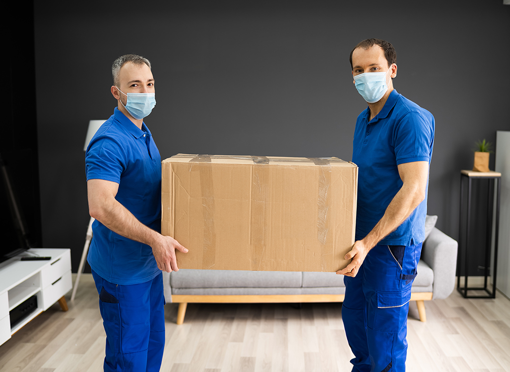 Movers,Services.,House,Move,In,Face,Mask
